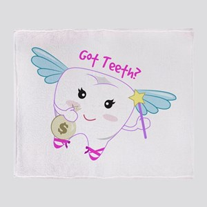 Got Teeth? Throw Blanket