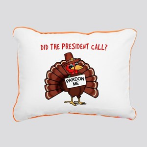 Presidential Pardon Than Rectangular Canvas Pillow