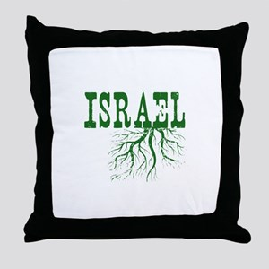 Israel Roots Throw Pillow