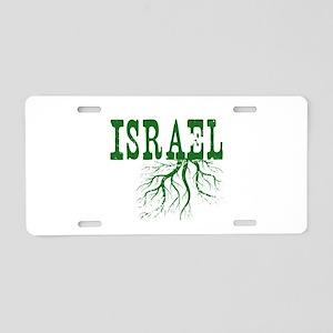 Israel Roots Aluminum License Plate