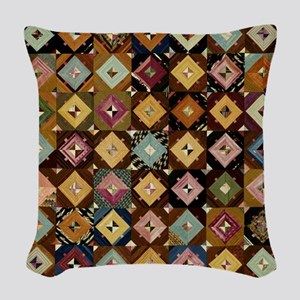 Vintage Graphic Pattern; Antique Art Woven Throw P