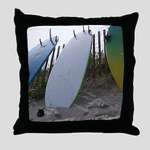 Surf Art Throw Pillow