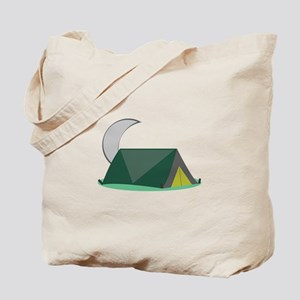 Campping Tent Tote Bag