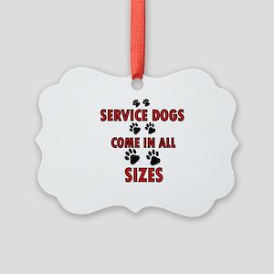SERVICE DOGS Ornament