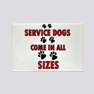 SERVICE DOGS Magnets