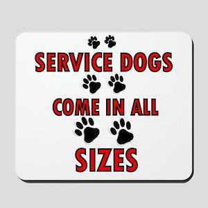 SERVICE DOGS Mousepad