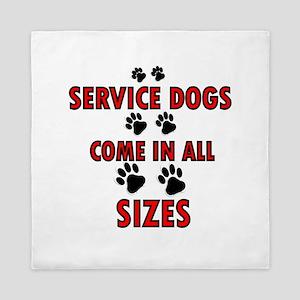 SERVICE DOGS Queen Duvet