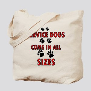 SERVICE DOGS Tote Bag