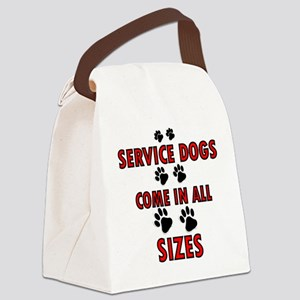 SERVICE DOGS Canvas Lunch Bag