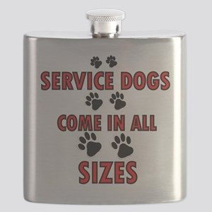 SERVICE DOGS Flask