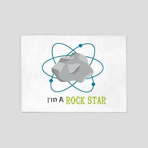 I'm A ROCK STAR 5'x7'Area Rug