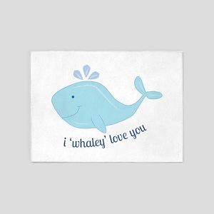 Whaley Love You 5'x7'Area Rug