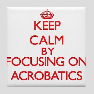 Acrobatics Tile Coaster