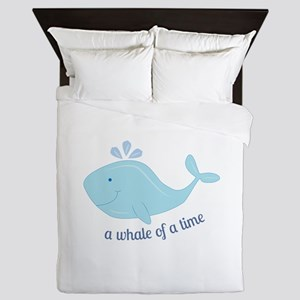 Whale Of Time Queen Duvet