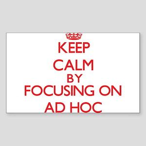 Ad Hoc Sticker