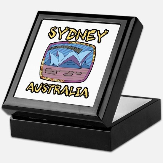 Sydney Australia Keepsake Box
