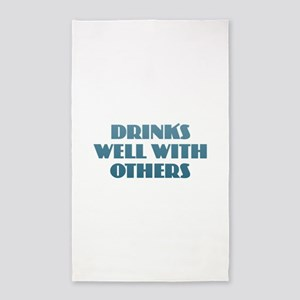 Drinks Well with Others Area Rug
