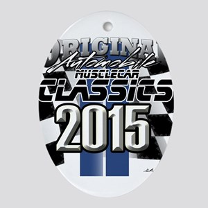 New 2015 Classic Ornament (Oval)