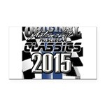 New 2015 Classic Rectangle Car Magnet