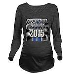 New 2015 Classic Long Sleeve Maternity T-Shirt