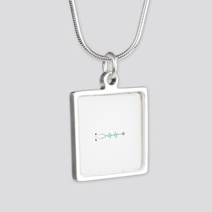 Stethescope Heart Rate Monitor Necklaces