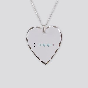 Stethescope Heart Rate Monitor Necklace