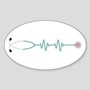 Stethescope Heart Rate Monitor Sticker
