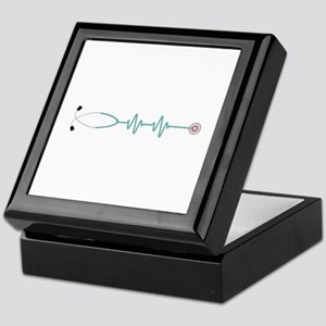 Stethescope Heart Rate Monitor Keepsake Box