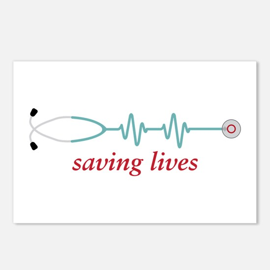 Saving Lives Postcards (Package of 8)