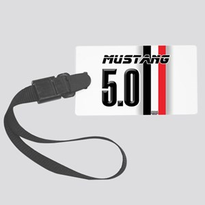 mustang5.0BWR Large Luggage Tag