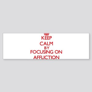 Affliction Bumper Sticker
