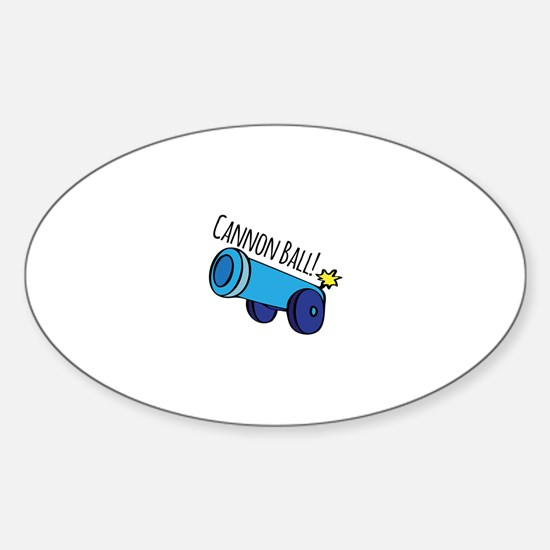 Cannon Ball Decal