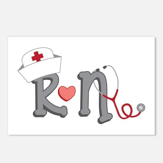 Registered Nurse Postcards (Package of 8)