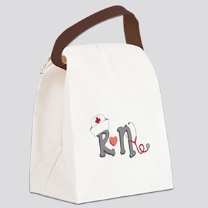 Registered Nurse Canvas Lunch Bag