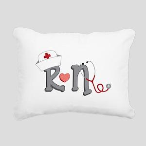 Registered Nurse Rectangular Canvas Pillow