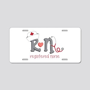Registered Nurse Aluminum License Plate