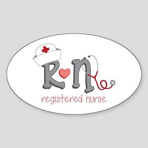 Registered Nurse Sticker