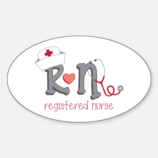 Registered Nurse Decal