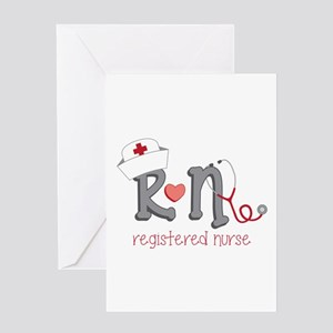 Registered Nurse Greeting Cards