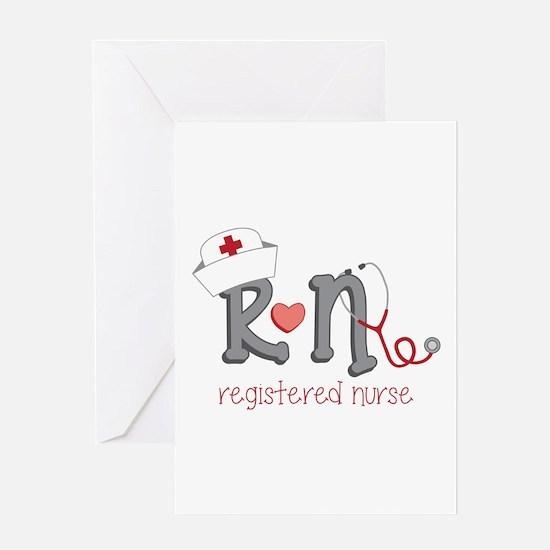 Registered Nurse Greeting Cards