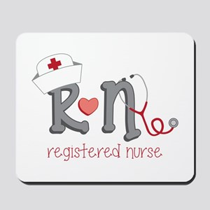 Registered Nurse Mousepad