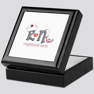 Registered Nurse Keepsake Box
