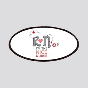 I'm The Nice Nurse Patches