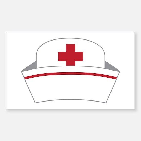Nurse Hat Decal