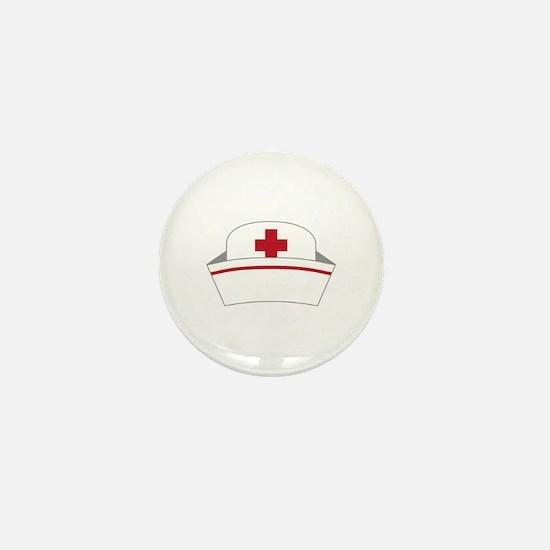 Nurse Hat Mini Button