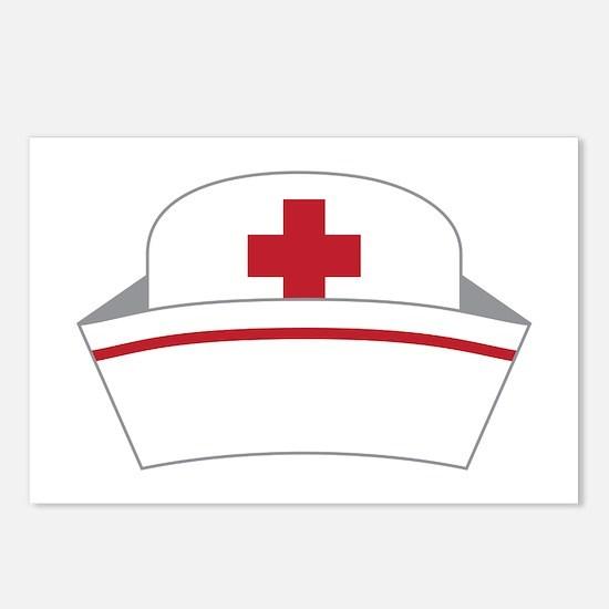 Nurse Hat Postcards (Package of 8)