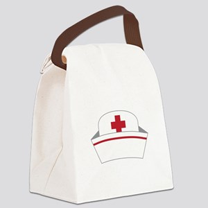 Nurse Hat Canvas Lunch Bag