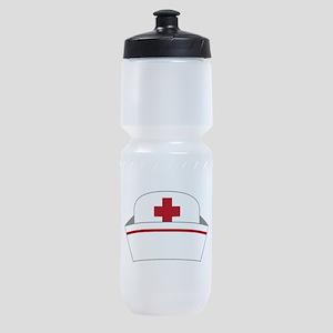Nurse Hat Sports Bottle