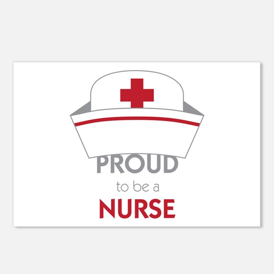 Proud To Be A Nurse Postcards (Package of 8)