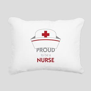 Proud To Be A Nurse Rectangular Canvas Pillow